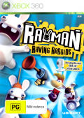 Rayman Raving Rabbids Xbox 360 Front Cover