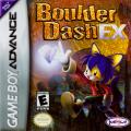 Boulder Dash EX Game Boy Advance Front Cover