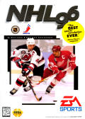 NHL 96 Genesis Front Cover