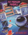1st Person Pinball Atari ST Front Cover