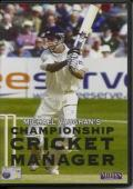 Michael Vaughan's Championship Cricket Manager Windows Front Cover