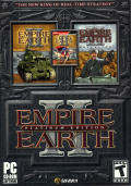 Empire Earth II (Platinum Edition) Windows Front Cover