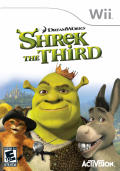 Shrek the Third Wii Front Cover
