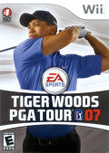Tiger Woods PGA Tour 07 Wii Front Cover