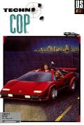 Techno Cop Commodore 64 Front Cover
