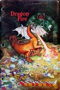 Dragon Fire Apple II Front Cover