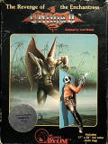 Ultima II: The Revenge of the Enchantress... Commodore 64 Front Cover