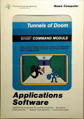 Tunnels of Doom TI-99/4A Front Cover