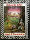 Return to Eden ZX Spectrum Front Cover
