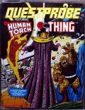 Questprobe: Featuring Human Torch and the Thing Commodore 64 Front Cover