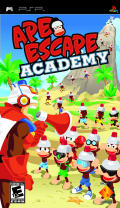 Ape Escape Academy PSP Front Cover
