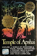 Dunjonquest: Temple of Apshai Apple II Front Cover