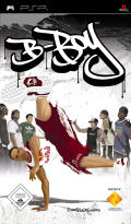 B-Boy PSP Front Cover