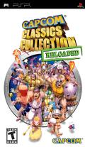 Capcom Classics Collection: Reloaded PSP Front Cover