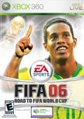 FIFA Soccer 06 Xbox 360 Front Cover