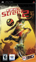 FIFA Street 2 PSP Front Cover