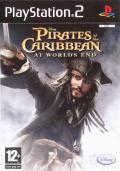 Disney Pirates of the Caribbean: At World's End PlayStation 2 Front Cover