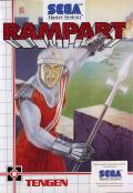 Rampart SEGA Master System Front Cover