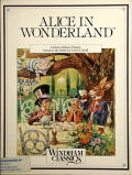 Alice in Wonderland Commodore 64 Front Cover