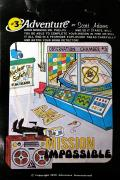 Secret Mission Atari 8-bit Front Cover