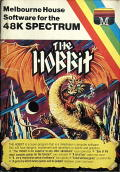 The Hobbit ZX Spectrum Front Cover
