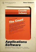 The Count TI-99/4A Front Cover
