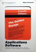 The Golden Voyage TI-99/4A Front Cover