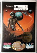 Scott Adams' Graphic Adventure #6: Strange Odyssey Atari 8-bit Front Cover