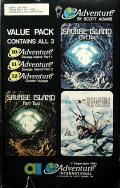 Adventure Value Pack #4 Atari 8-bit Front Cover