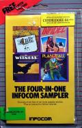 The Four-in-One Infocom Sampler Commodore 64 Front Cover