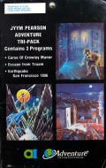 Jyym Pearson Adventure Tri-Pack Atari 8-bit Front Cover