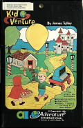 Kid Venture Apple II Front Cover