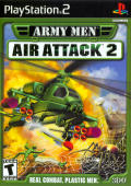 Army Men: Air Attack 2 PlayStation 2 Front Cover