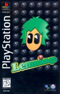 Lemmings 3D PlayStation Front Cover