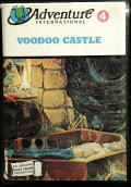 Scott Adams' Graphic Adventure #4: Voodoo Castle Commodore 64 Front Cover