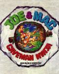Joe & Mac: Caveman Ninja DOS Front Cover