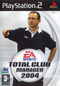 Total Club Manager 2004 PlayStation 2 Front Cover
