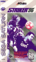 Striker '96 SEGA Saturn Front Cover