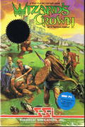 Wizard's Crown DOS Front Cover