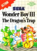Wonder Boy III: The Dragon's Trap SEGA Master System Front Cover