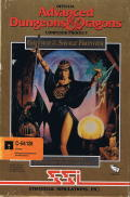 Gateway to the Savage Frontier Commodore 64 Front Cover