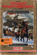 Secret of the Silver Blades Commodore 64 Front Cover