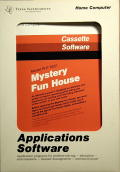 Mystery Fun House TI-99/4A Front Cover