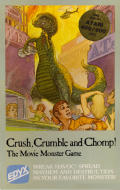 Crush, Crumble and Chomp! Atari 8-bit Front Cover