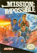 Mission: Impossible NES Front Cover