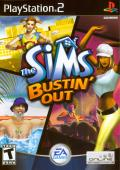 The Sims: Bustin' Out PlayStation 2 Front Cover