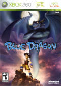 Blue Dragon Xbox 360 Front Cover