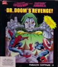 The Amazing Spider-Man and Captain America in Dr. Doom's Revenge! DOS Front Cover