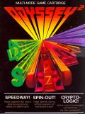 Speedway! / Spin-Out! / Crypto-Logic! Odyssey 2 Front Cover