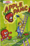 Apple Panic Atari 8-bit Front Cover